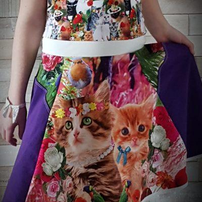 kleurige jurk Meisjes bokie